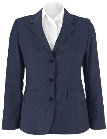 RECEPTION/FRONT OF HOUSE Female CRF47 Womens blouse Classic collar Semi-Fi ed Centre back length: 66-72cm (increases with size) 123gsm 97% /3% elastane Colour: Pale blue NF11 Suit jacket Fully lined