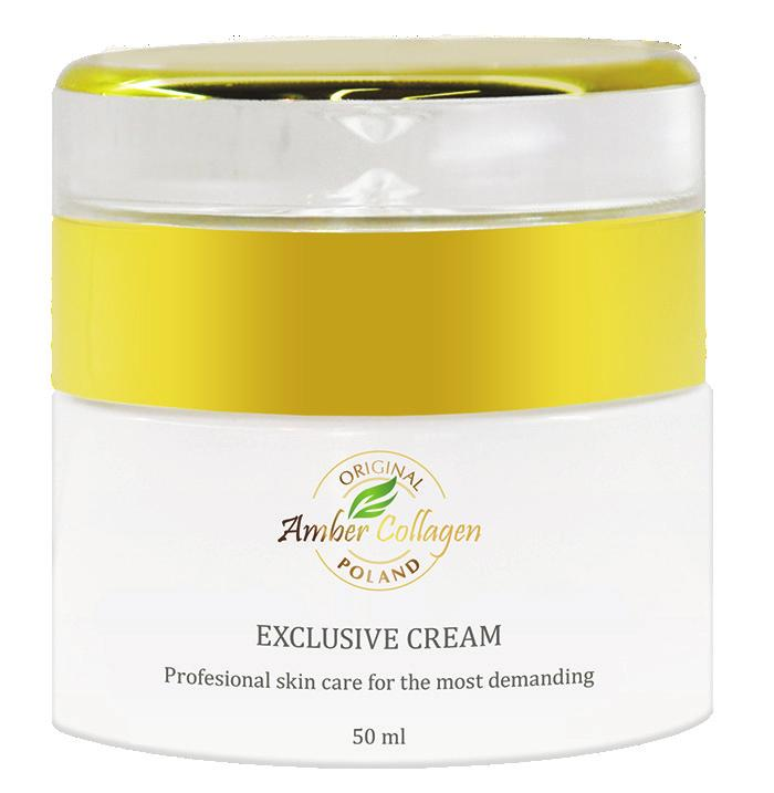 Exclusive Cream It is a specialistic, odourless cream, suitable for all skin types requiring revitalization.