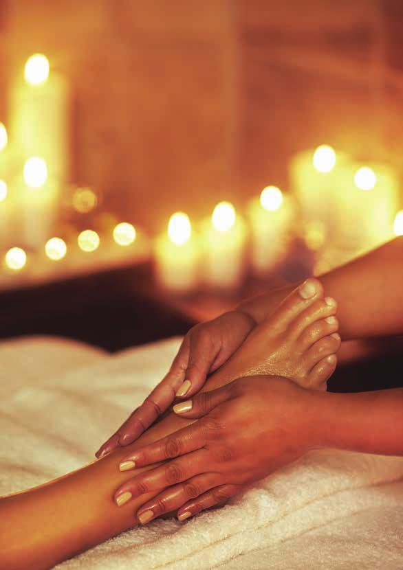 HANDS AND FEET Enjoy an indulgent Spa Manicure or Pedicure whilst reclining in the luxurious surroundings of our beautiful treatment rooms.