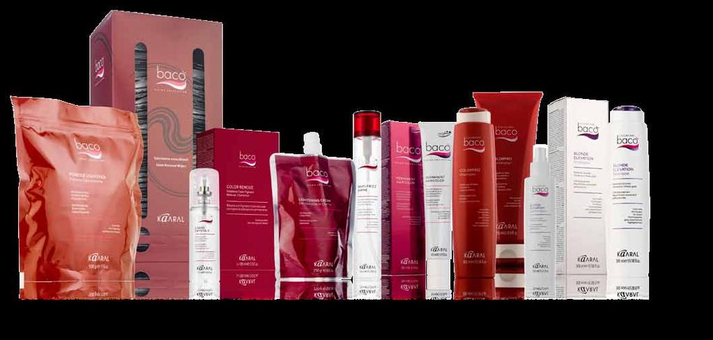 Bacò leaves the hair healthy, soft with unsurpassed shine.