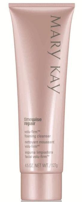 What are the key benefits of Volu-Firm Foaming Cleanser?