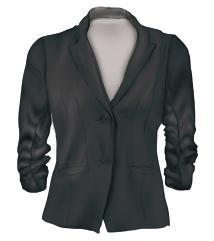 19 20 BLACK BLAZER A blazer with a 3 /4 sleeve will be easiest to match