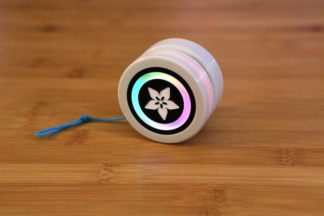Overview 3D Printed NeoPixel Yoyo This project is a derivative of Morgan Stewart's Circuit Playground Yoyo (Watch her demo it on Adafruit's Show &