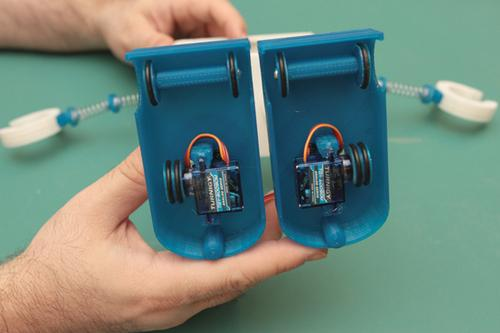 Modifying Servos for Continuous Rotation Created by