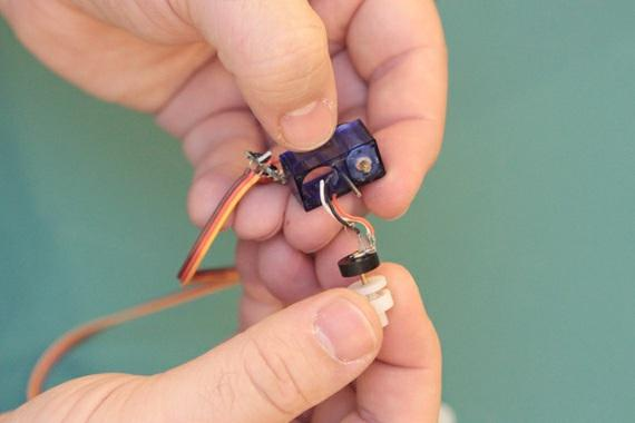 Clip them as close as you can to the base of the potentiometer.