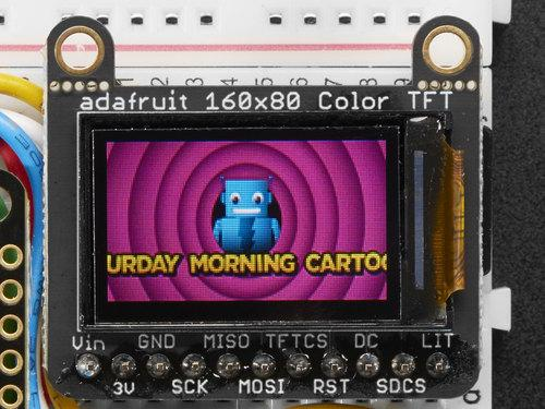 Adafruit Mini TFT - 0.