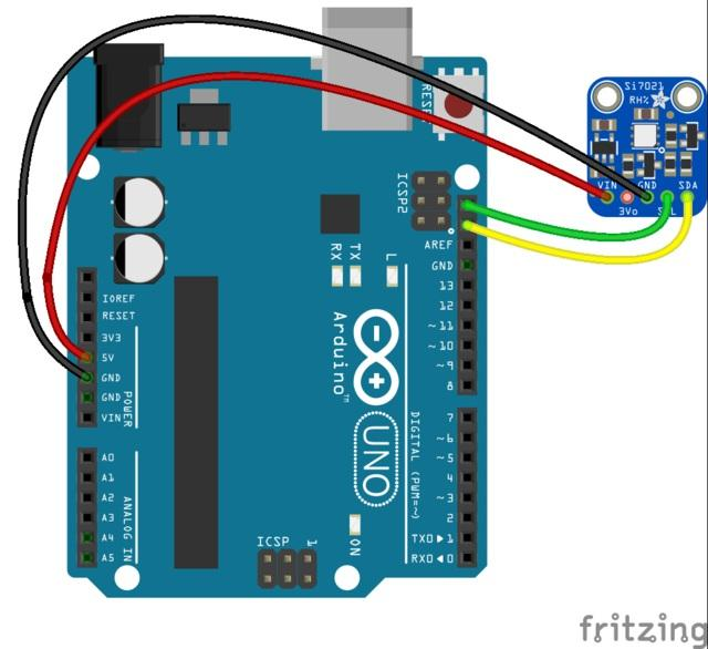 Arduino Code You can easily wire this breakout to any microcontroller, we'll be using an Arduino.