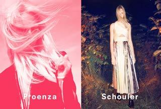 As Proenza Schouler has worked with famous directors for their campaign videos, and as they consider their videos to