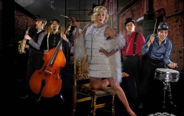 ENTERTAINERS Moonshiners The Moonshiners offer a swirling array of Top 40 tunes with a swingin twist from yesteryear.