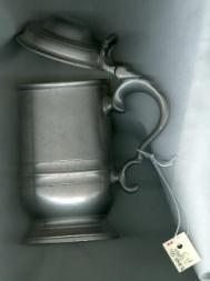 "Imprint in the bottom reads: ""CROWN & ROSE/CAST PEWTER/MADE"