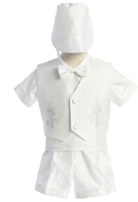 80 # 408 Short Trousers Boys Christening Set Available in sizes
