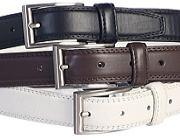 Belts Black, White or Brown
