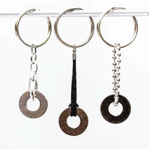 KEYCHAINS REFILL SET OF 10 KEYCHAINS* MAKER SUPPLIES Clasp Bead $50 MSRP $5 WHOLESALE PER ITEM SKU#: KeyClaNicBlankx10 $45 MSRP $.