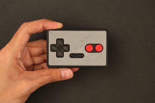 DIY Bluetooth Gamepad Created by Ruiz