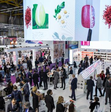 COSMETICS&TOILETRIES HALL 22-26 Fragrances, make-up, accessories, skin care and toiletries.