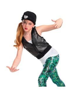 Monday 7pm Hip Hop with Addie: Boys Color: Animal Pink Hair: Left side pony with