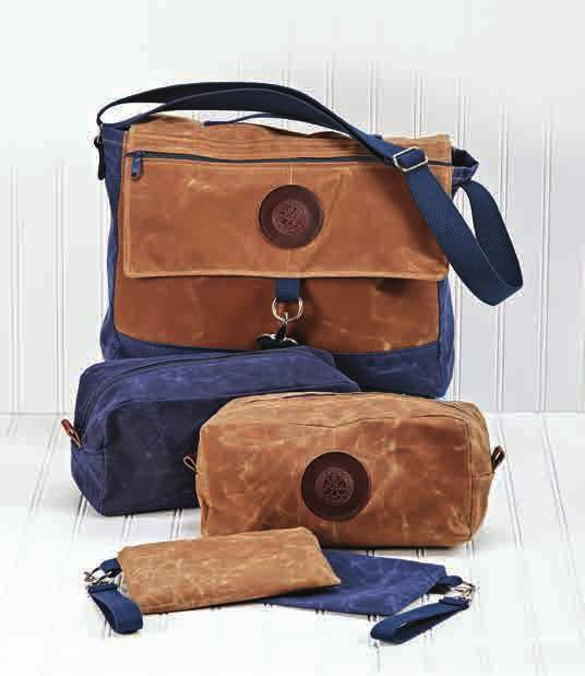15 x 13 Waxed Canvas Bags -