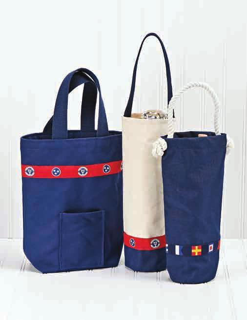 5 1116 (Holds 2 Bottles) Canvas Wine Carriers 1204 1205 Tough
