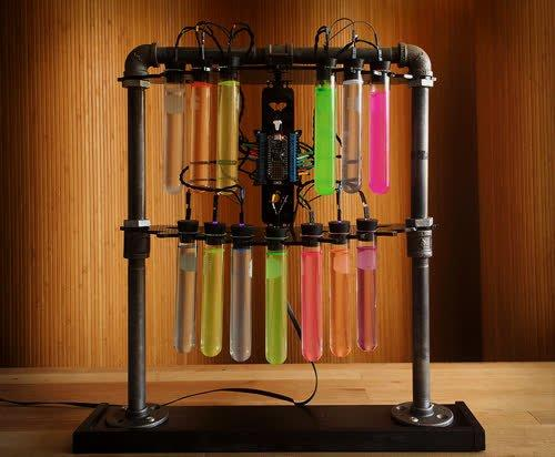 Mad Science Test Tube Rack Created by John