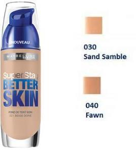 FDT 040 FAWN/CANNEL SUPERSTAY BETTER SKIN NUg 3600530933303 91
