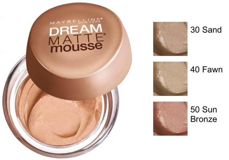 MAYBELLINE FDT DREAM MAT NUgb 50