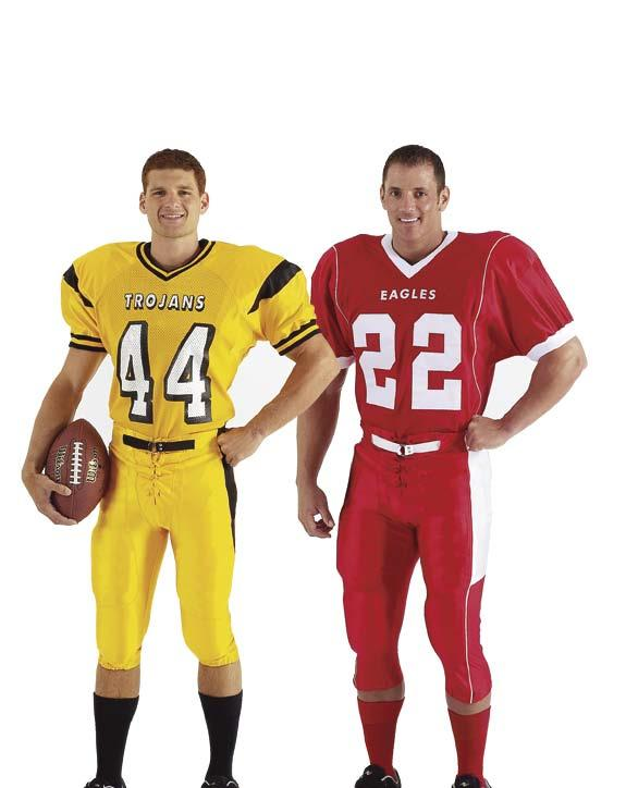 Mens & Youth Custom Football Uniforms Durable Designs Delivered on-time for over 25 years Orders: 800-631-1091 Fax: 828-584-8440 Phone: 828-584-8000 sales@actionsportsuniforms.
