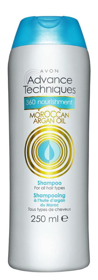 softer & healthier hair from the very first use,