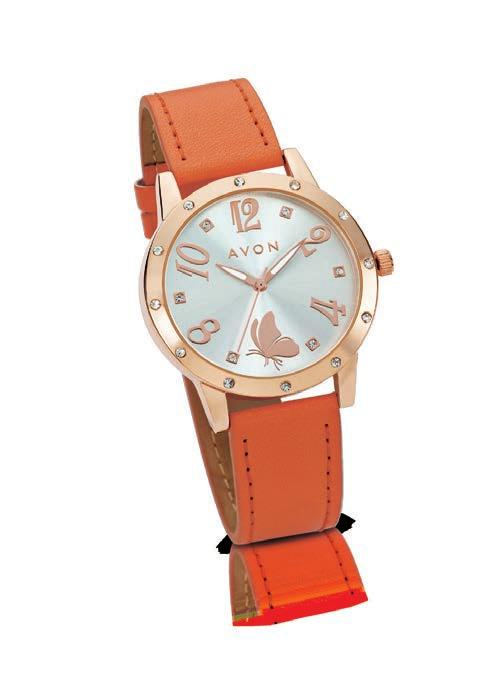R279 R70 12 Candace Watch Orange