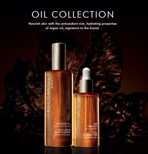 BODY OILS DISCOVER THE ORIGINAL Moroccanoil is the original, the expert, in oil-infused technology.