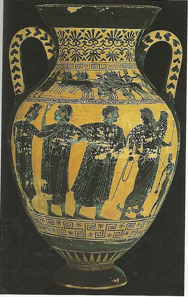 P a g e 86 Figure 12: Winged-Sandals amphora. The Judgment of Paris.