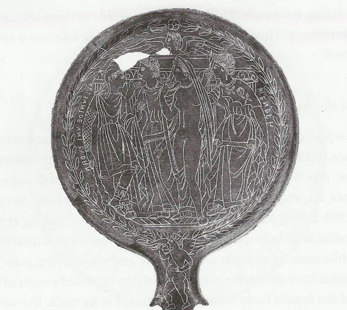 Bronze mirror from Todi, 300BCE. Villa Giulia.