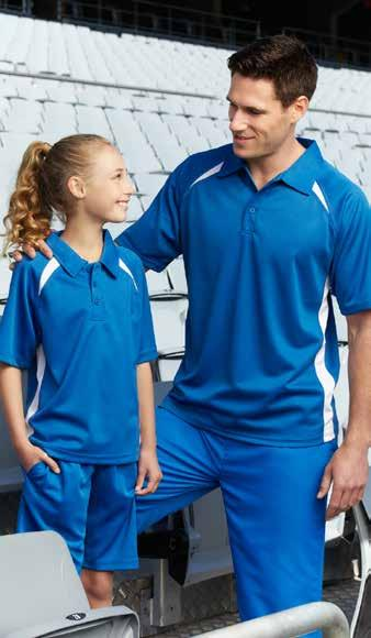 MODERN FIT 4-6 8 10 12 14 GARMENT ½ CHEST (CM) 45 48 51 54 57 TP8815 TP8815B ADULTS PANT KIDS PANT Outer: 100% Polyester with contrast Micro Fibre panels Inner: Single jersey lining - fully lined
