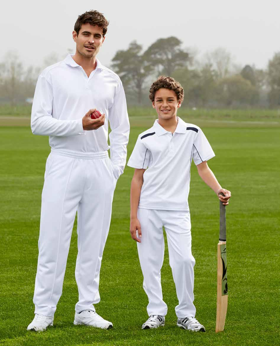 CRICKET PANT BIZ COOL TECHNOLOGY TP246ML MENS PANT TP246KL KIDS PANT BIZ COOL 100% Polyester