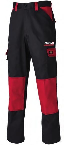 CAS490 GDT Premium Trouser YKK zip front Two hip pockets Gusset at crotch 4Two back pockets 5Cargo pocket reinforced with CORDURA 6Ruler pocket 7CORDURA top loading knee pad pockets 8Side elasticated