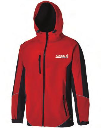 CAS700 Two Tone Softshell Jacket Waterproof fabric to 8,000mm and breathable to 800mvp Reflective pipingzip