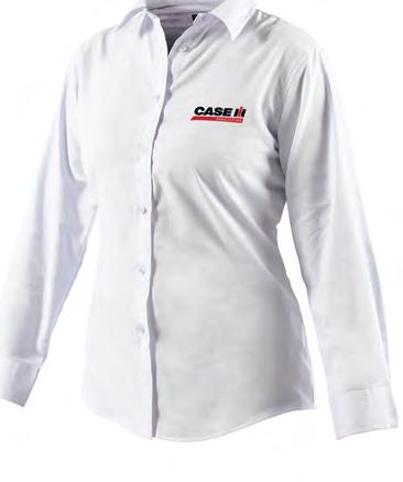 CAS6400 Women s Oxford Weave Shirt Inverted pleat in back for ease of movement