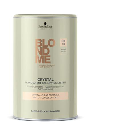Transparent Gel Lifting System The 1st lightener with a crystal clear formulation for absolute control and convenience.