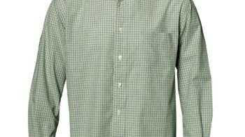 Men's Mini plaid Wrinkle Resistant Shirt Insect Repellent Easy Care Wrinkle Resistant 3.