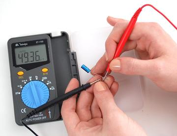 Multimeter You will need a good quality basic multimeter that can measure voltage and continuity. Click here to buy a basic multimeter. (http://adafru.