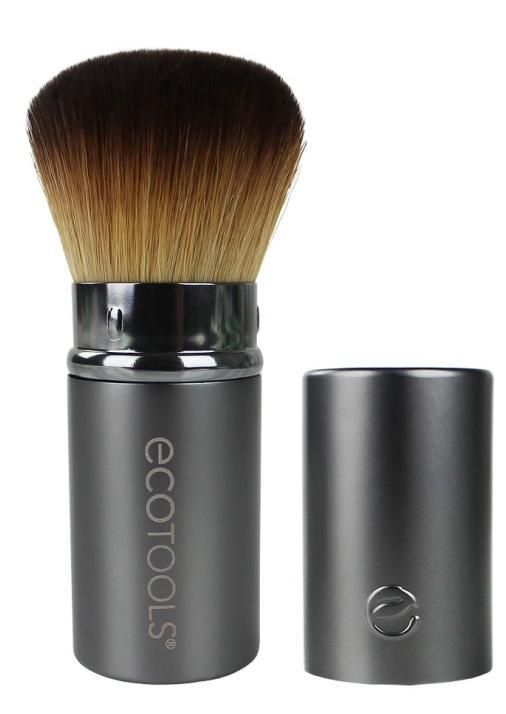 plush, duofiber bristle brush allows you look, an airbrushed, streak-free used with face powders and evenly sweeps on