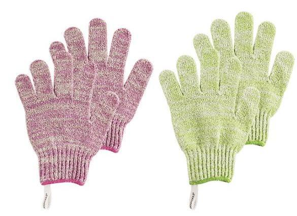Loofah Body Sponge Exfoliating Gloves
