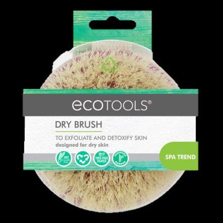 Inspired by spa dry brushing treatments, use to exfoliate