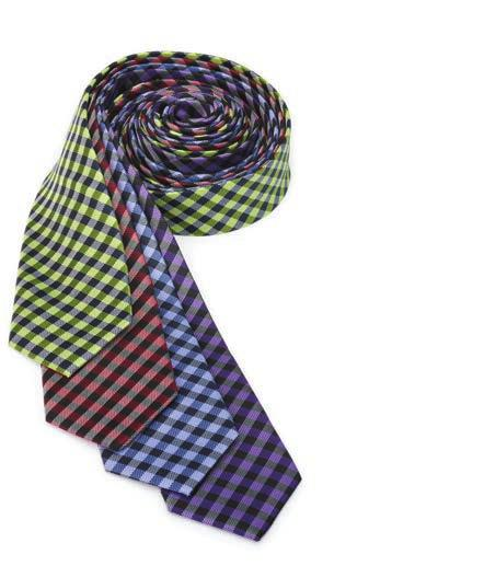 "Black 059 Brick 062 Plum SD02 Narrow Solid Tie: 58""L x"
