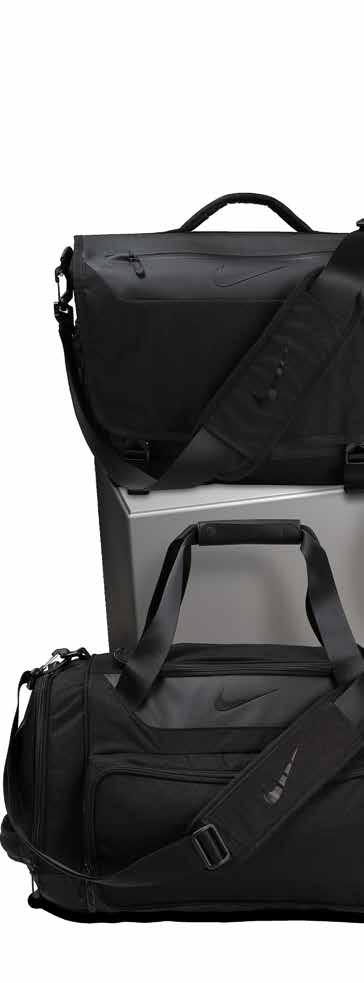 NIKE GOLF LUGGAGE DEPARTURE III PREMIUM LUGGAGE NK273 VERSATILE CARRYING OPTIONS FOR SECURE, ORGANISED STORAGE WHILE TRAVELLING.