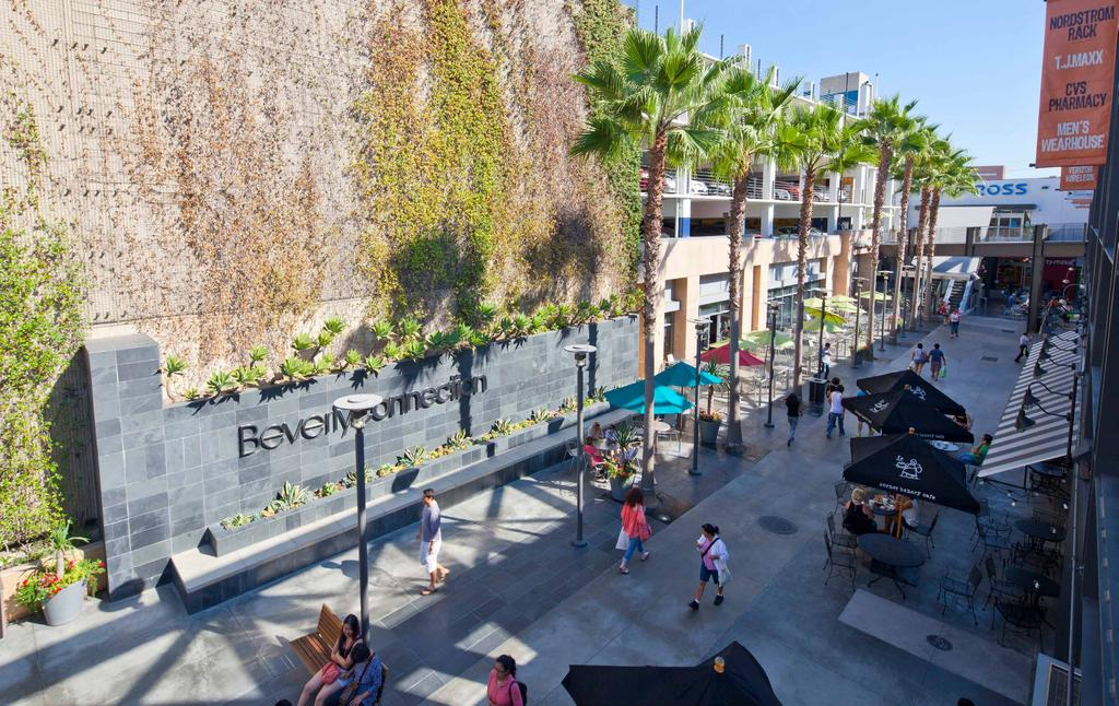 BEVERLY CONNECTION LOS ANGELES, CA Located in one of LA s premiere shopping destinations, nestled between Beverly Hills, the Miracle Mile District & West Hollywood, Beverly Connection offers its