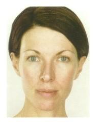 Facial Shapes, Determine your facial shape Pear-Shaped Face The pear-shaped face is narrow at the temples and forehead