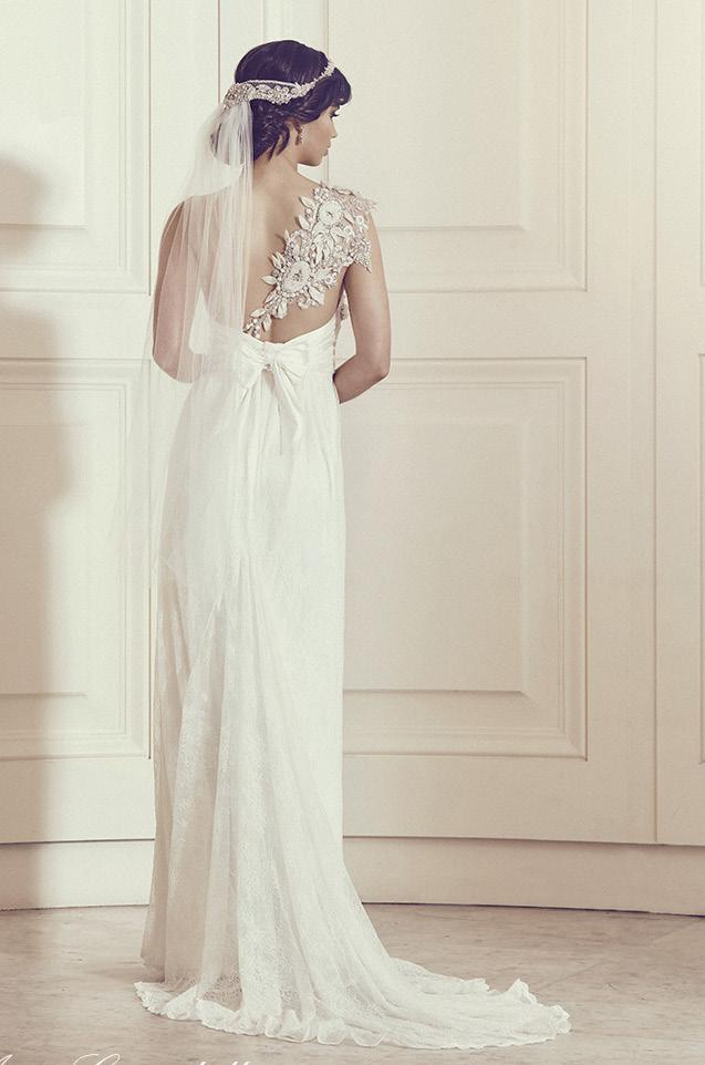 Paired beautifully with either a lace or embellished bodice, the relaxed