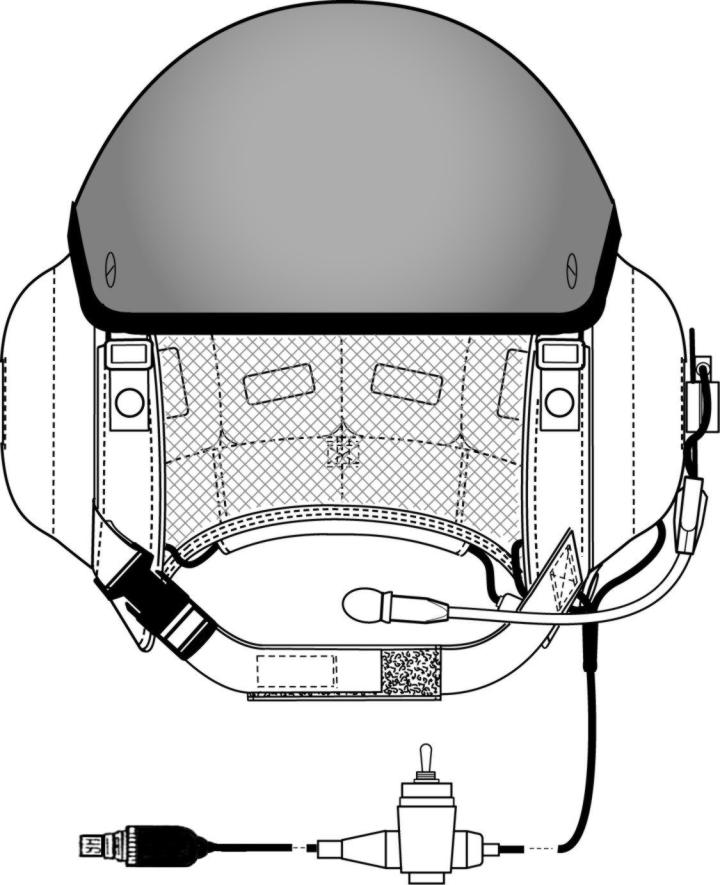 TACTICAL COMMUNICATIONS HELMET (TCH) Fitting