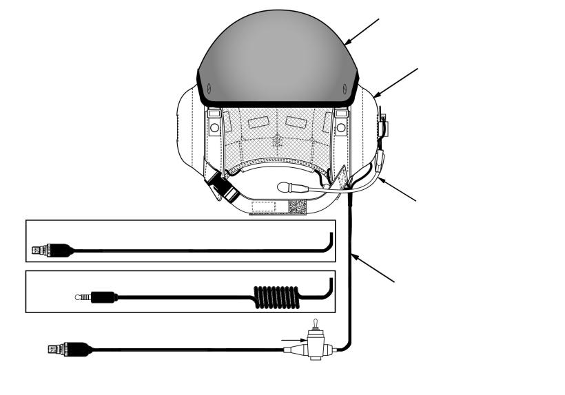 DESCRIPTION The Tactical Communications Helmet (TCH), shown in Fig ure 1, is a close-fit ting helmet providing ballistic and bump protection, communications, ventilation, com fort, and a se cure fit.