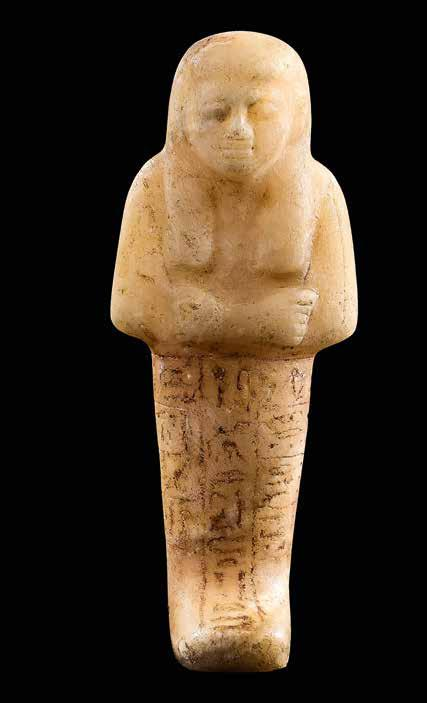 20 Plaque with god Bes Hippopotamus tooth Egypt New Kingdom, c.
